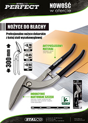 Nożyce do blachy Stalco Perfect 300mm