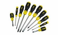 CushionGrip screwdrivers 10 piece set (Fl+Ph)