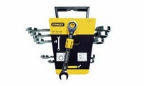Ratchet combination wrenches set