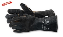 Leather gloves S-Skin Black